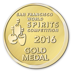 San Fransisco World Spirits Gold Medal